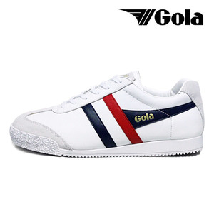 [GOLA CLASSIC] HARRIER LEATHER 스니커즈 CMA198WH